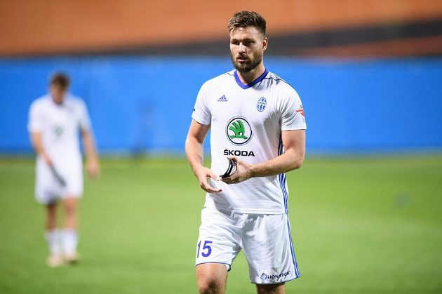 Rozčarovaný Tomáš Wágner z Mladé Boleslavi po utkání 3. předkola Evropské ligy s FCSB.