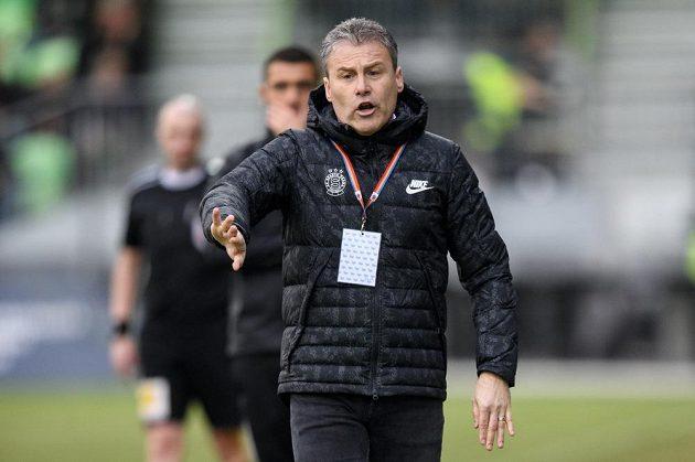 Trenér Sparty Praha Pavel Hapal.