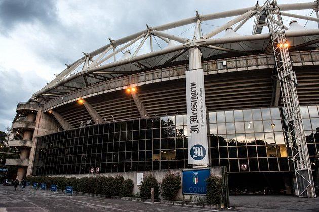 Stadio Olimpico v Římě - nejlepší léta už má za sebou.