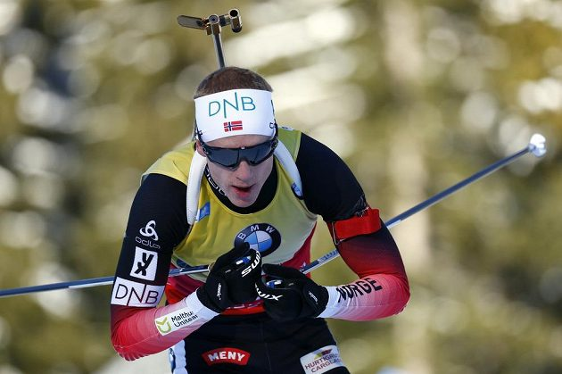 Johannes Thingnes Bö zářil při sprintu v Ruhpoldingu.