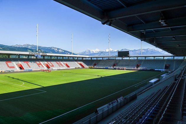 Stockhorn Arena ve švýcarském Thunu.