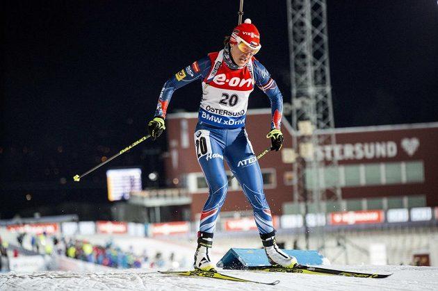 Veronika Vítková skončila v Östersundu sedmá.