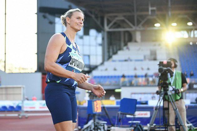 Barbora Špotáková mohla být se svým výkonem spokojená