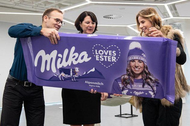 Snowboardistka a lyžařka Ester Ledecká představila nové partnery pro sezónu.