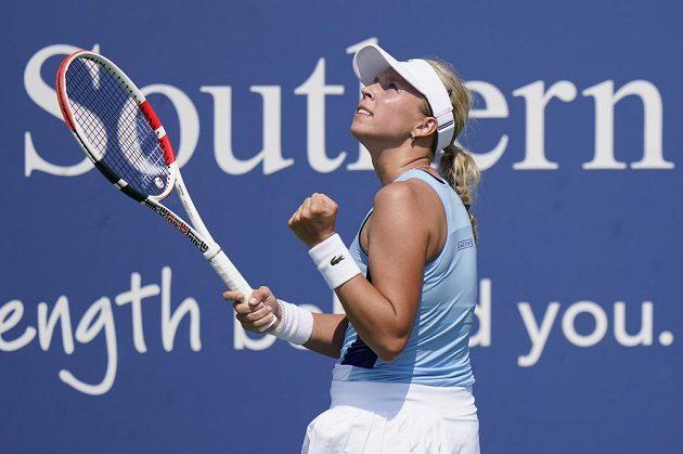 Estonská tenistka Anett Kontaveitová vyřadila Češku Marii Bouzkovou.