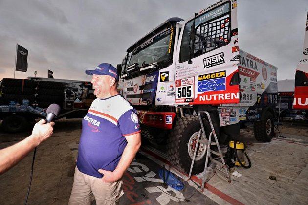 Martin Kolomý dorazil do Peru s dobrou náladou.