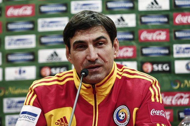 Rumunský trenér Victor Piturca