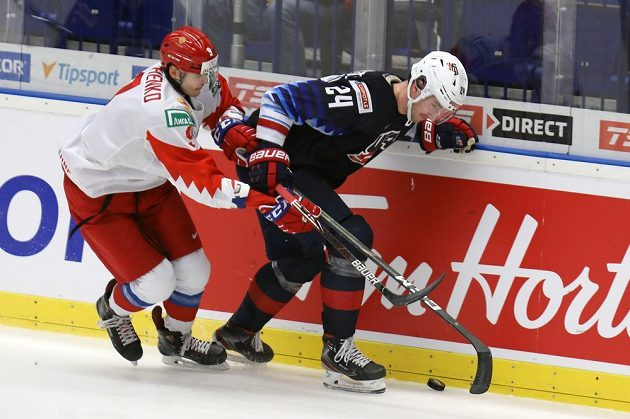 Zleva Rus Kirill Samuelsson a Mattias Samuelsson z USA.
