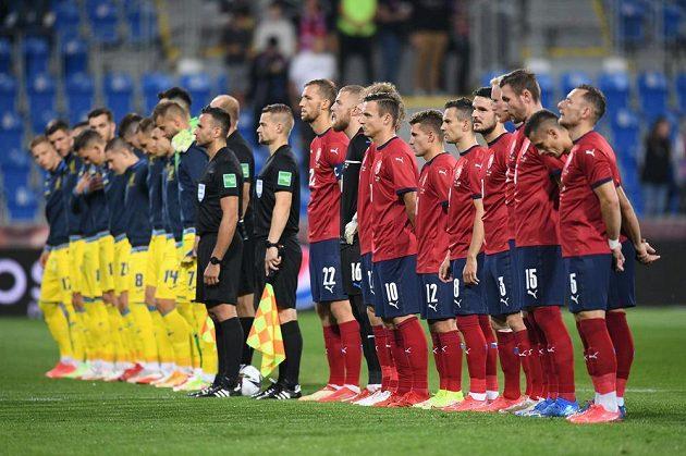 Soupeřem české fotbalové reprezentace v přípravě je v Plzni národní tým Ukrajiny.