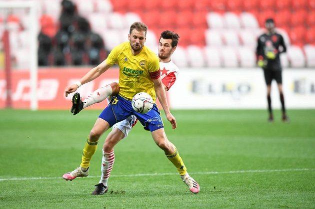 Fotbalisté Slavie hostili ve 28. kole Fortuna ligy Zlín