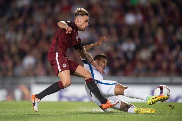 Václav Kadlec v utkání Evropské ligy s Interem Milán zazářil.