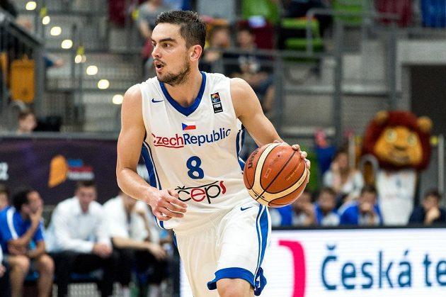 Český rozehrávač Tomáš Satoranský.