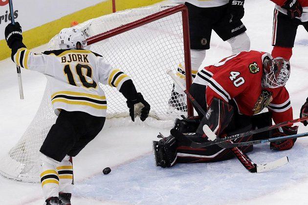 Hokejisté Bostonu rozhodli o své výhře v prodloužení