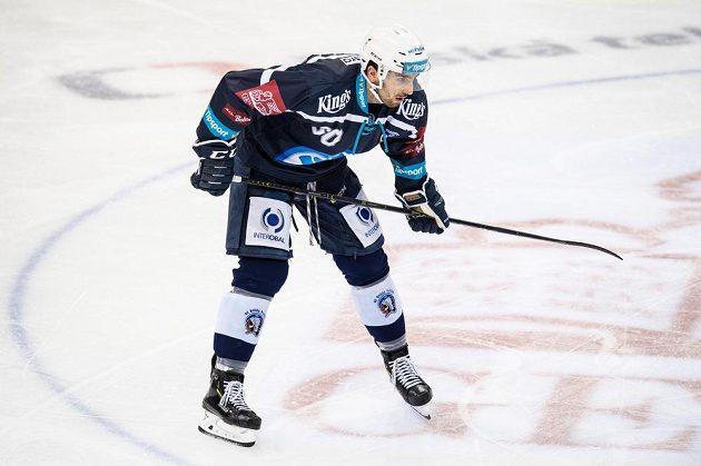 Michal Moravčík z Plzně během utkání se Spartou.