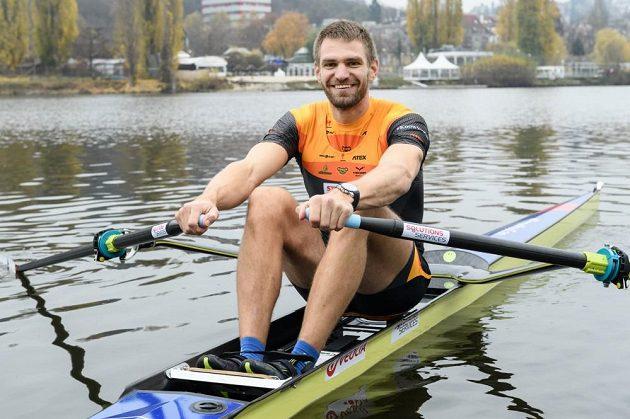 Úspěšný český skifař Ondřej Synek.