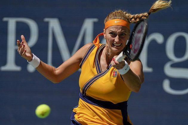 Petra Kvitová na US Open do osmifinále nepostoupila.