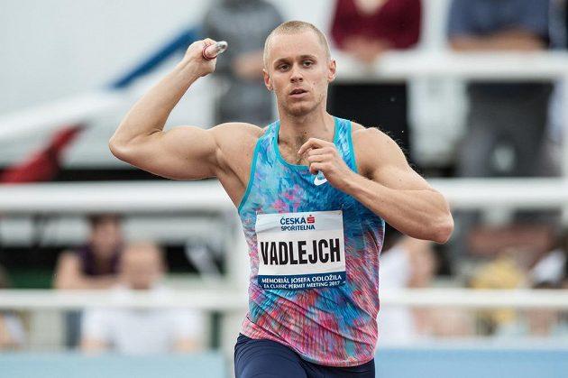 Oštěpař Jakub Vadlejch během atletického mítinku Memoriál Josefa Odložila.