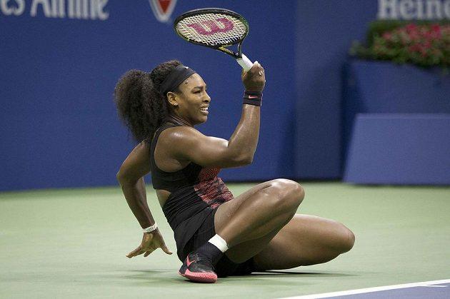 Sereně Williamsové chybí už jen dvě výhry k zisku kalendářního Grand Slamu.