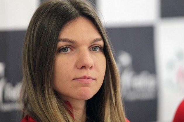 Hvězda rumunského týmu Simona Halepová.