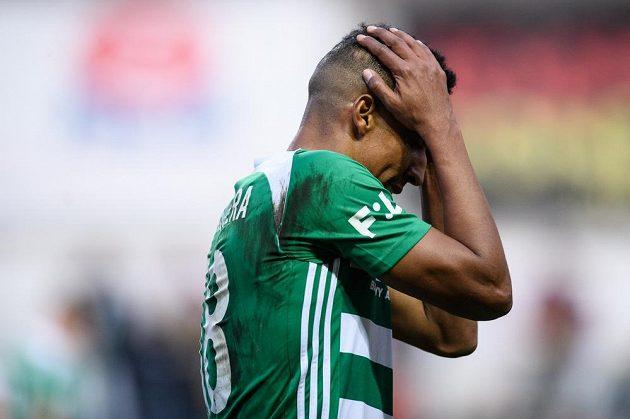 Jhon Mosquera z Bohemians v utkání 23. ligového kola proti Karviné gól nedal.