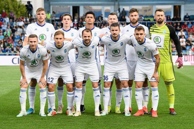 Mužstvo Mladé Boleslavi před odvetným utkáním s FCSB