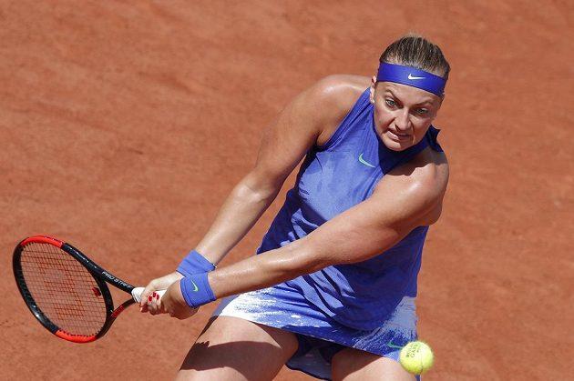 Petra Kvitová ve druhém kole Roland Garros.