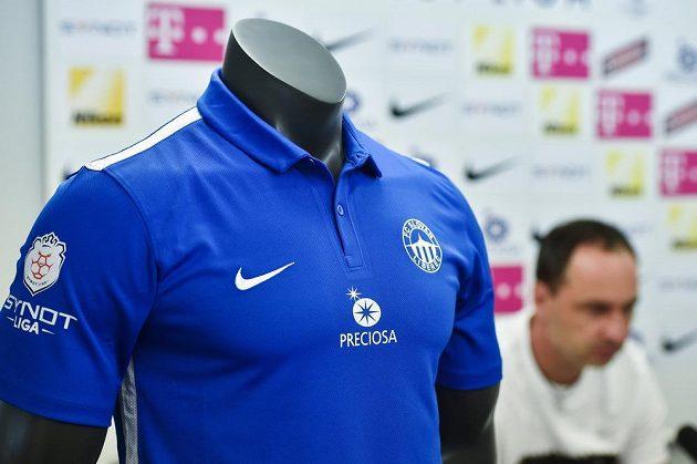Nový dres fotbalistů Slovanu Liberec pro domácí zápasy v sezóně 2015/2016.