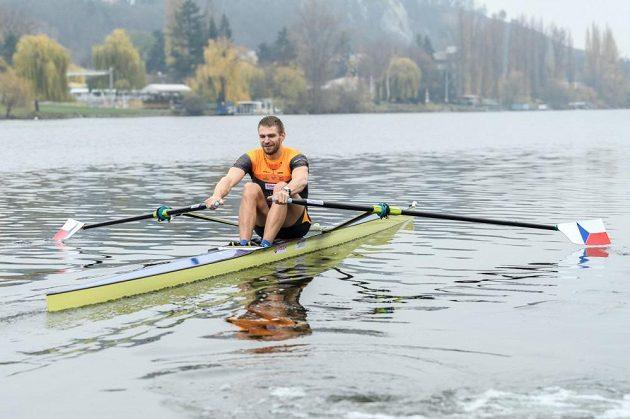 Český skifař Ondřej Synek v akci.