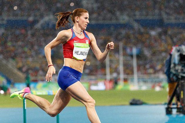 Zuzana Hejnová obsadila ve finále na 400 metrů překážek čtvrté místo.