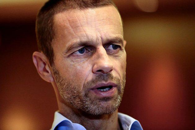 Čerstvě zvolený šéf UEFA Slovinec Aleksandar Čeferin.