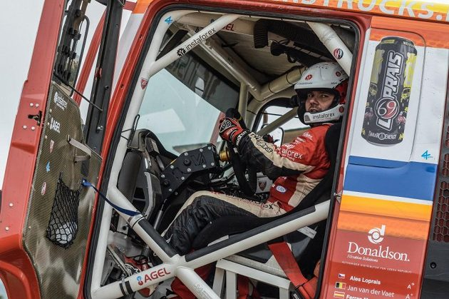 Aleš Loprais pojede Rallye Dakar s tahačem MAN.