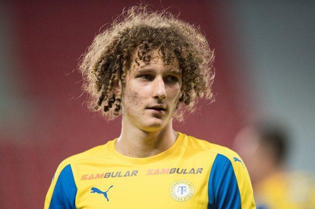 Alex Král hrál za mládežnické výběry ve Slavii, teď nastupuje za Teplice.