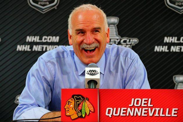 A Joel Quenneville, kouč vítězů, mohl být spokojen.