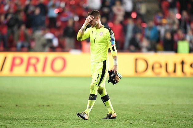 Zklamaný Tomáš Vaclík.