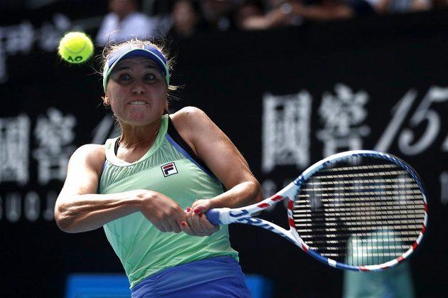 Sofia Keninová se může radovat z postupu do čtvrtfinále Australian Open.