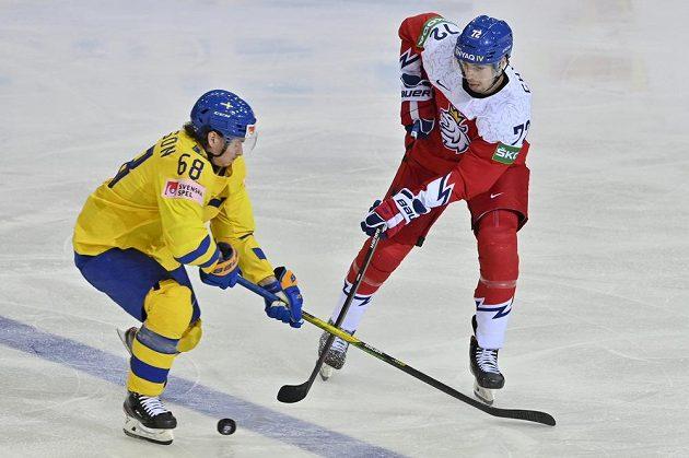ZlevaVictor Olofsson ze Švédska aFilip Chytil.