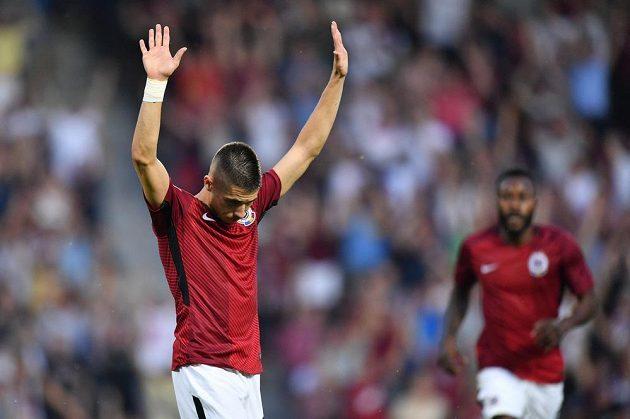 Plavšič dal druhý gól Sparty v zápase proti Subotici