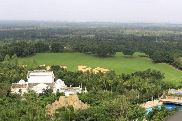 Golfová hřiště jsou doménou resortu.
