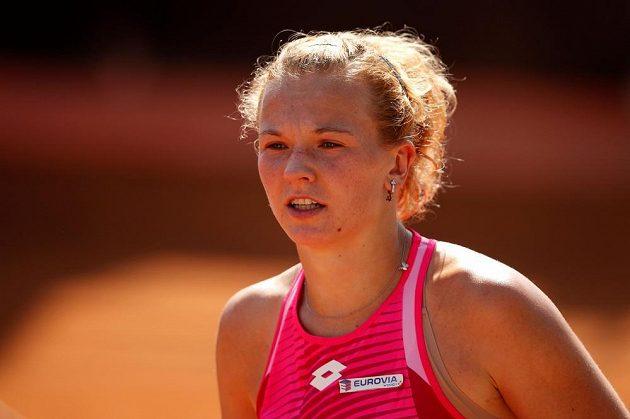 Tenistka Kateřina Siniaková vypadla v Římě ve 2. kole po porážce 2:6, 3:6 s Ruskou Darjou Kasatkinovou.