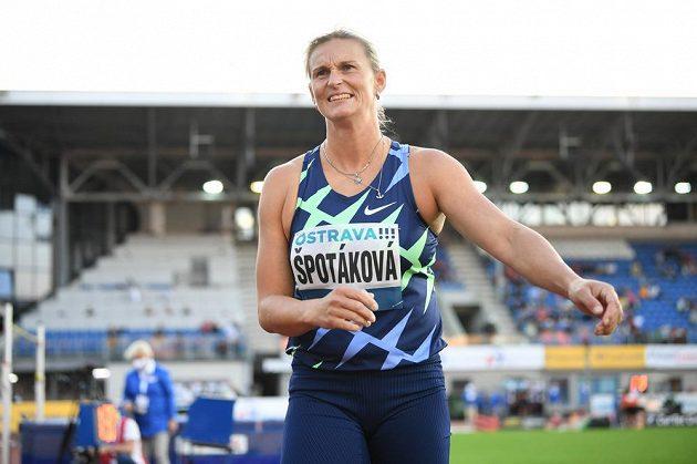 Barbora Špotáková po svém pokusu