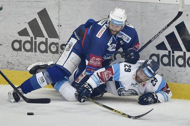 Lukáš Krenželok (vpravo) z Liberce a Tomáš Malec z Brna.