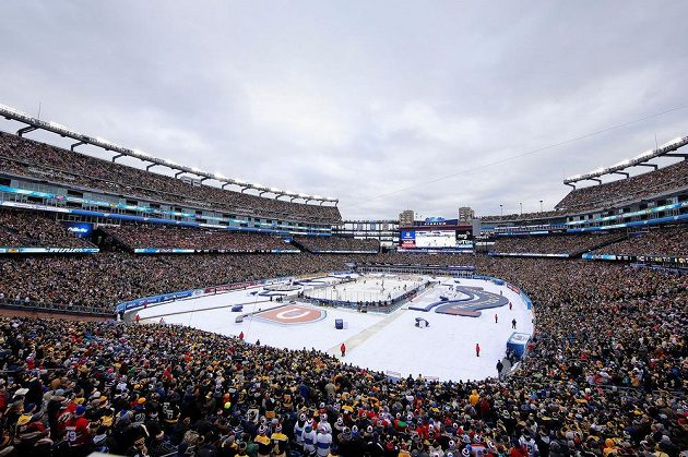 Winter Classic Boston - Montreal ve Foxborough.