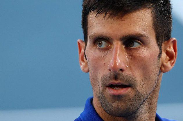 Novak Djokovič prohrál se Španělem Pablem Carreňem