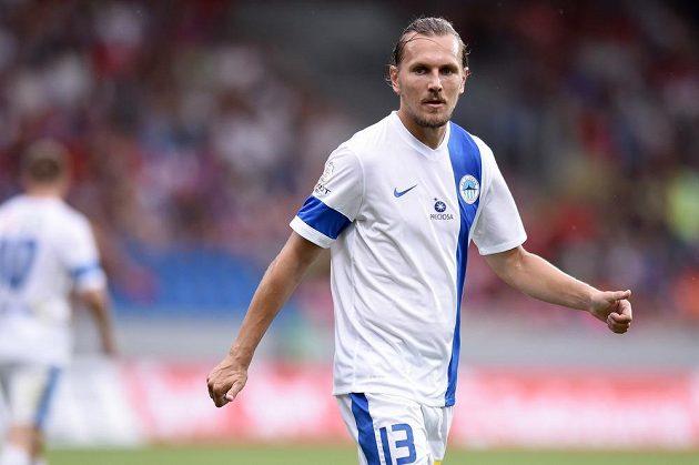 Letní posila Slovanu Liberec Ondřej Švejdík během Superpoháru s Plzní.