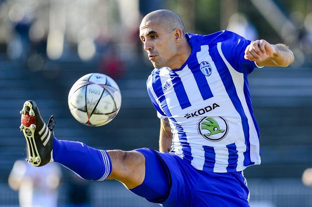Ani Douglas Da Silva z Mladé Boleslavi se v utkání s Hradcem gólově neprosadil.