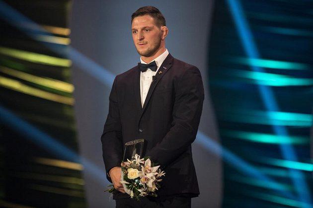 Lukáš Krpálek se stal i nejlepším mužským sportovcem za rok 2016.