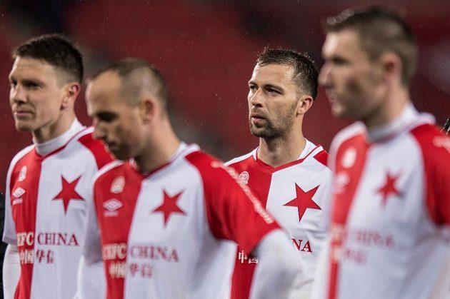Zklamaný Josef Hušbauer po utkání 26. kola Synot ligy proti Teplicím.