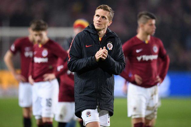 Zklamaný fotbalista Bořek Dočkal po utkání s Libercem.
