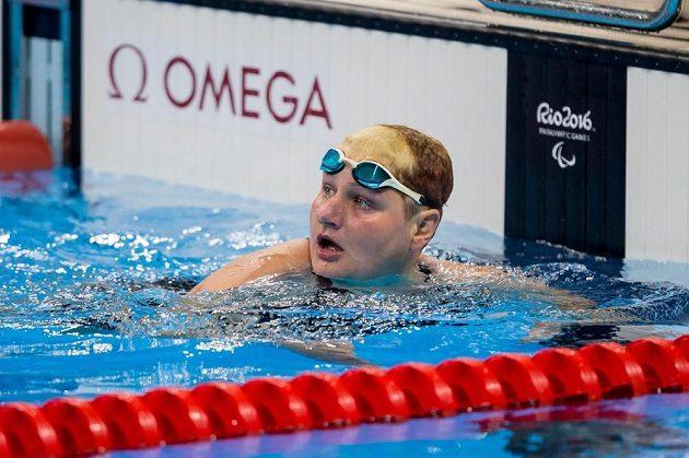 Plavkyně Běla Třebínová, první česká medailistka z paralympijských her v Riu.