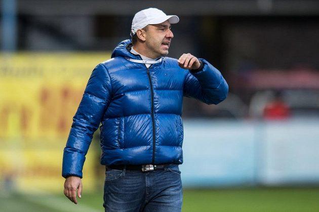 Liberecký trenér Jindřich Trpišovský během utkání 14. kola Synot ligy s pražskou Spartou.
